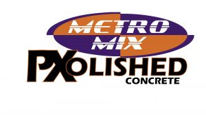 metro mix polished concrete logo